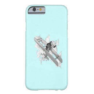 ヴィンテージの飛行機 iPhone 6 ベアリーゼアケース