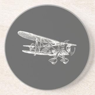 ヴィンテージの飛行機、フライトプラン コースター