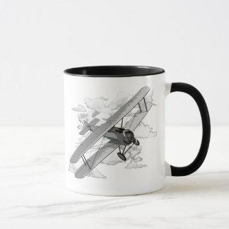 ヴィンテージの飛行機 マグカップ