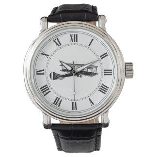 ヴィンテージの飛行機 腕時計