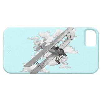ヴィンテージの飛行機 iPhone SE/5/5s ケース