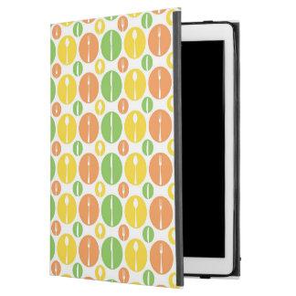 """ヴィンテージの食事用器具類パターン iPad PRO 12.9"""" ケース"""