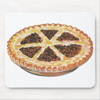 ヴィンテージの食糧デザート、新しく焼いたなペカンパイ マウスパッド
