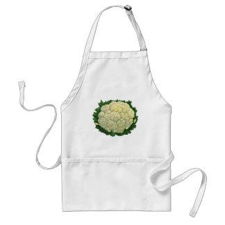ヴィンテージの食糧野菜の野菜のカリフラワー スタンダードエプロン