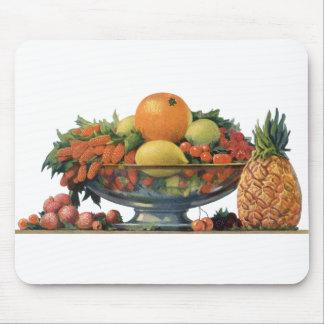 ヴィンテージの食糧、ボールの分類されたフルーツ マウスパッド
