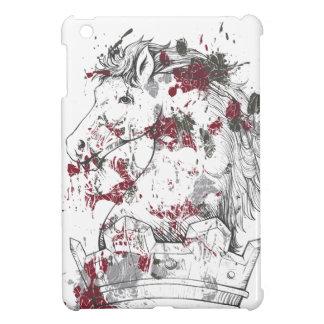 ヴィンテージの馬 iPad MINIカバー