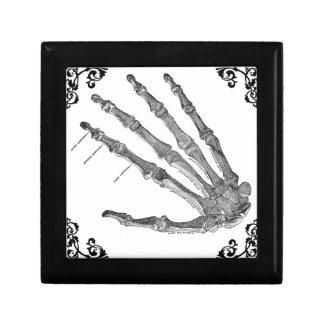 ヴィンテージの骨組手のゴシック様式宝石箱 ギフトボックス
