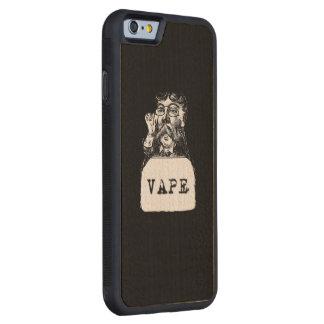 ヴィンテージの髭Vapeブラウン CarvedメープルiPhone 6バンパーケース