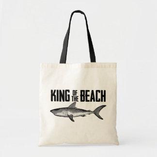 ヴィンテージの鮫のビーチ王 トートバッグ