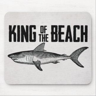 ヴィンテージの鮫のビーチ王 マウスパッド