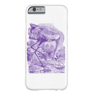 ヴィンテージの鳥の写真|の紫色|のアメリカシロヅル BARELY THERE iPhone 6 ケース