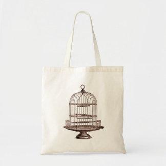 ヴィンテージの鳥籠 トートバッグ