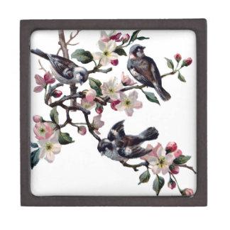 ヴィンテージの鳥 ギフトボックス