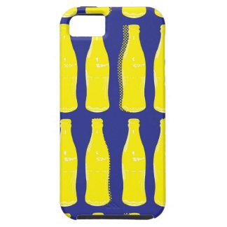 ヴィンテージの黄色いサイダー瓶 iPhone SE/5/5s ケース