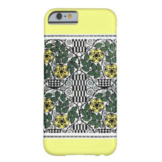 ヴィンテージの黄色いヒマワリのデザイン BARELY THERE iPhone 6 ケース