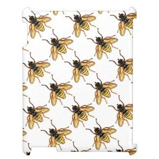 ヴィンテージの黄色および黒い蜂 iPadケース
