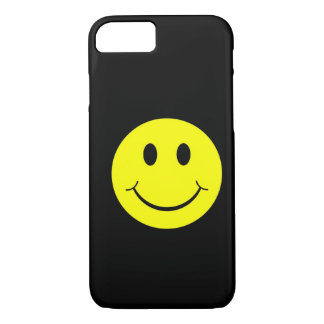 ヴィンテージの黄色く幸せなスマイリーフェイスのiPhone 7の箱 iPhone 8/7ケース