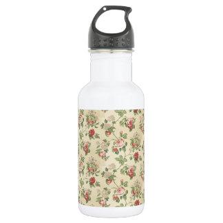 ヴィンテージの黄色バラの花園 ウォーターボトル