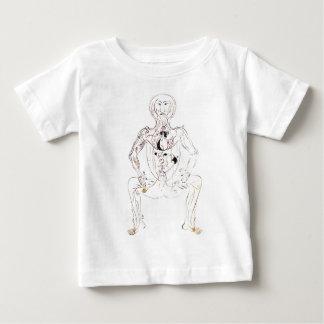 ヴィンテージの13世紀なペルシャの医学の前部解剖学 ベビーTシャツ