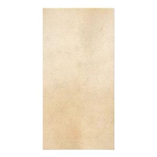 ヴィンテージの1850年の硫酸紙のテンプレートのブランク カード