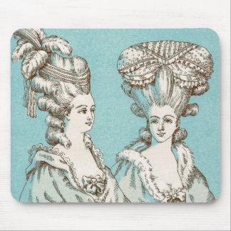 ヴィンテージの1880年代のパリフランスEsqueの女性マウスパッドA マウスパッド