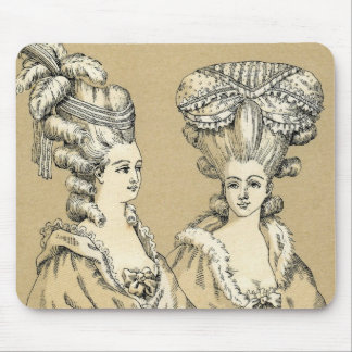 ヴィンテージの1880年代のパリフランスEsqueの女性マウスパッドT マウスパッド