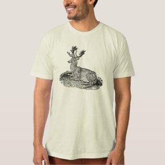 ヴィンテージの19世紀のファロージカのイラストレーションのテンプレート Tシャツ