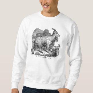 ヴィンテージの19世紀のヤギのアメリカのロッキー山脈のヤギ スウェットシャツ