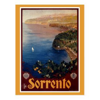 ヴィンテージの20年代のソレントのイタリアンな旅行 ポストカード