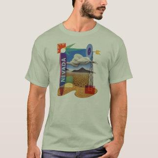 ヴィンテージの40年代のネバダラスベガスのイラストレーション Tシャツ