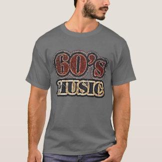 ヴィンテージの60年代音楽Tシャツ Tシャツ