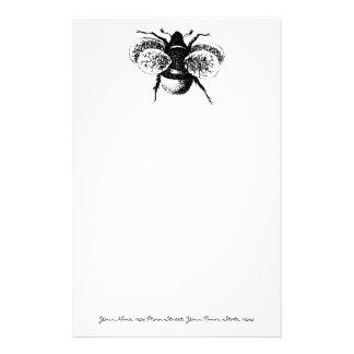 ヴィンテージの《昆虫》マルハナバチ 便箋
