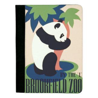 """ヴィンテージの""""Brookfieldの動物園""""のパッドのフォリオ パッドフォリオ"""