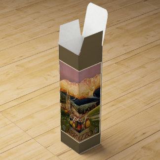 ヴィンテージのAbrvzzoイタリアのカスタムのワイン用化粧箱 ワインギフトボックス