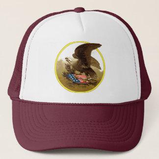 ヴィンテージのAmercanのワシの帽子 キャップ