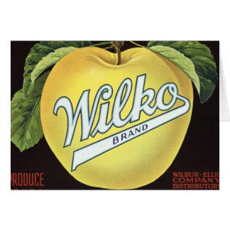 ヴィンテージのAppleの農産物 カード