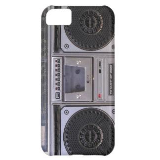 ヴィンテージのboomboxのiPhone 5の場合 iPhone5Cケース