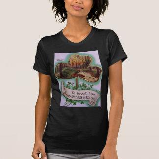 ヴィンテージのCarrの谷間のベルファストセントパトリック日カード Tシャツ