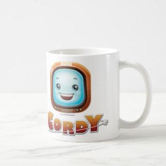 ヴィンテージのCordyの白のマグ コーヒーマグカップ
