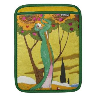 ヴィンテージのDecoのイラストレーションのファッションのiPadの袖 iPadスリーブ