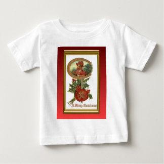 ヴィンテージのdecoのクリスマス ベビーTシャツ