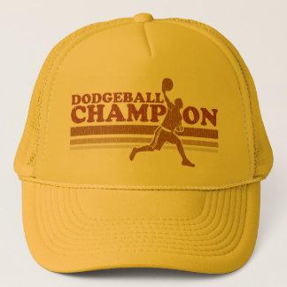 ヴィンテージのDodgeballのチャンピオンのトラック運転手の帽子 キャップ
