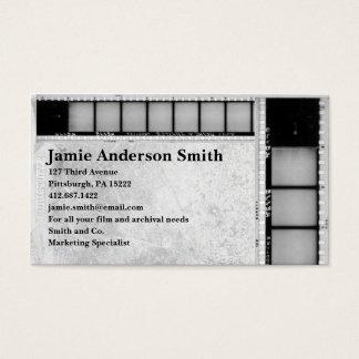 ヴィンテージのFilmstripの名刺 名刺