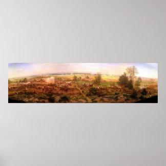 ヴィンテージのGettysburgの円形パノラマポールPhilippoteaux ポスター