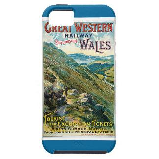 ヴィンテージのGreat Western鉄道旅行ポスター iPhone SE/5/5s ケース