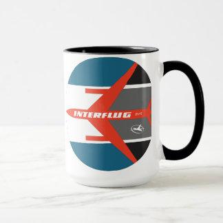 ヴィンテージのInterflug航空会社のマグ(より遅いデザイン) マグカップ