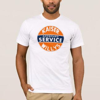 ヴィンテージのKaiser Willysサービス印 Tシャツ