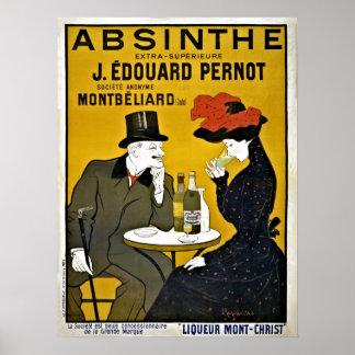 ヴィンテージのLeonetto Cappielloのアブサンの広告 ポスター