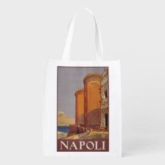 ヴィンテージのNapoli (ナポリ)イタリアのエコバッグ エコバッグ