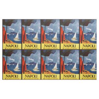 ヴィンテージのNapoli (ナポリ)イタリアのカスタマイズ可能な生地 ファブリック